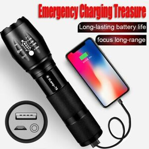9000LM-LED-Flashlight-XHP50-Torch-USB-Rechargeable-Waterproof-Lamp-Ultra-Bright