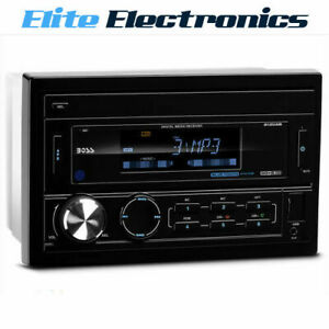 BOSS-AUDIO-812UAB-BLUETOOTH-2-DIN-MECHLESS-CAR-USB-MP3-SD-AUX-PLAYER-RECEIVER