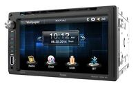 Farenheit Ti-651b Double Din Dvd/cd/wma Player 6.5 Touchscreen Bluetooth Remote