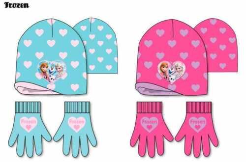 Disney Frozen Anna Elsa Character Beanie Hat /& Glove Sets