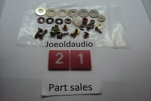 Garrard-GT-25-Turntable-Chassis-Screws-amp-Parts-Parting-Entire-Out-GT-25