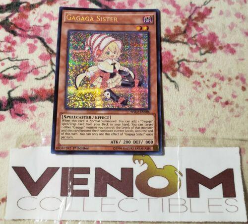 Secret Rare - Gagaga Sister M//NM 1x WSUP-EN006 1st Edition YuGiOh