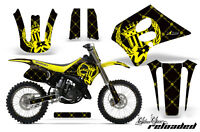 Suzuki Rm 125 Graphic Kit Amr Racing Plates Decal Rm125 Sticker Part 93-95 Rlb