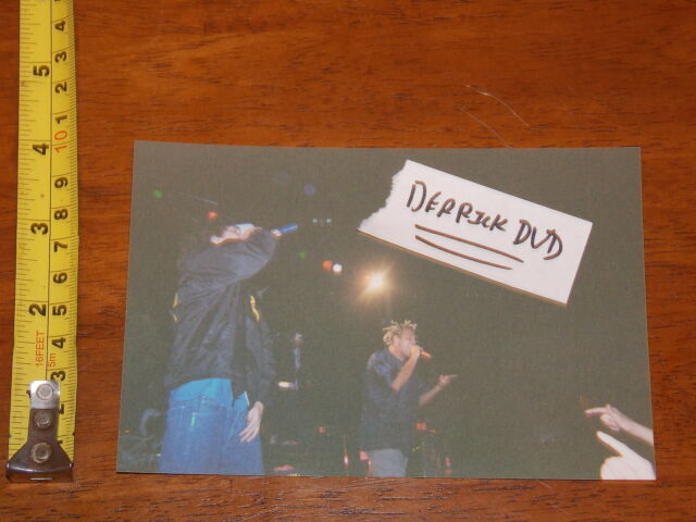 RARE OLD PHOTO ICP KOTTONMOUTH KINGS CONCERT #37