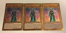 3 x YuGiOh - MVP1-ENG16 Kiwi Magician Girl - Gold Rare 1st Edition  NEW