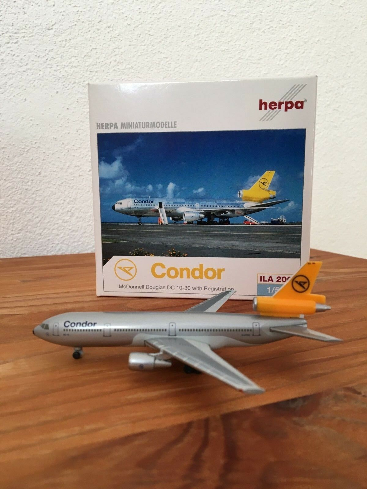 Herpa Herpa Herpa Wings McDonnell Douglas DC-10 Condor  ILA 2002  Club Edition    Limited c5808e