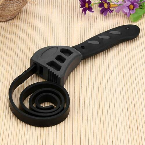 Multi Function Adjustable Belt Spanner Universal Rubber Strap Wrench Tool NIGH