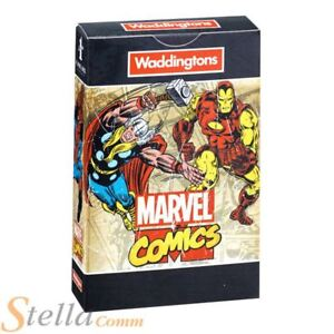 Waddingtons Number 1 Marvel Universe Playing Cards