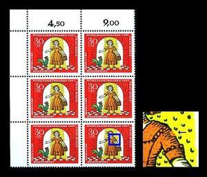 """540 I ** (Wohlfahrt 1967, Glücksmarie"""") Sechserblock, postfrisch Luxus, - München, Deutschland - 540 I ** (Wohlfahrt 1967, Glücksmarie"""") Sechserblock, postfrisch Luxus, - München, Deutschland"""