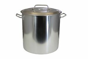 Concord 100 Qt Stainless Steel Stockpot Brew Kettle W Lid