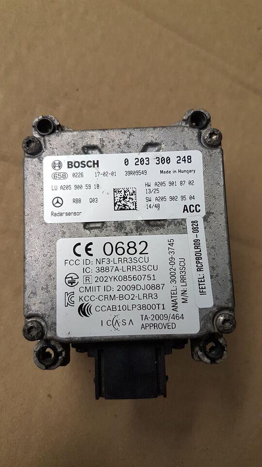 Elektriske Dele, Distronic radar sensor, Mercedes C220