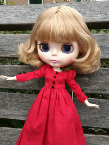 "12/"" Neo Blythe Doll from Factory Doll Jointed Body Golden Mixed Color Short Hair"