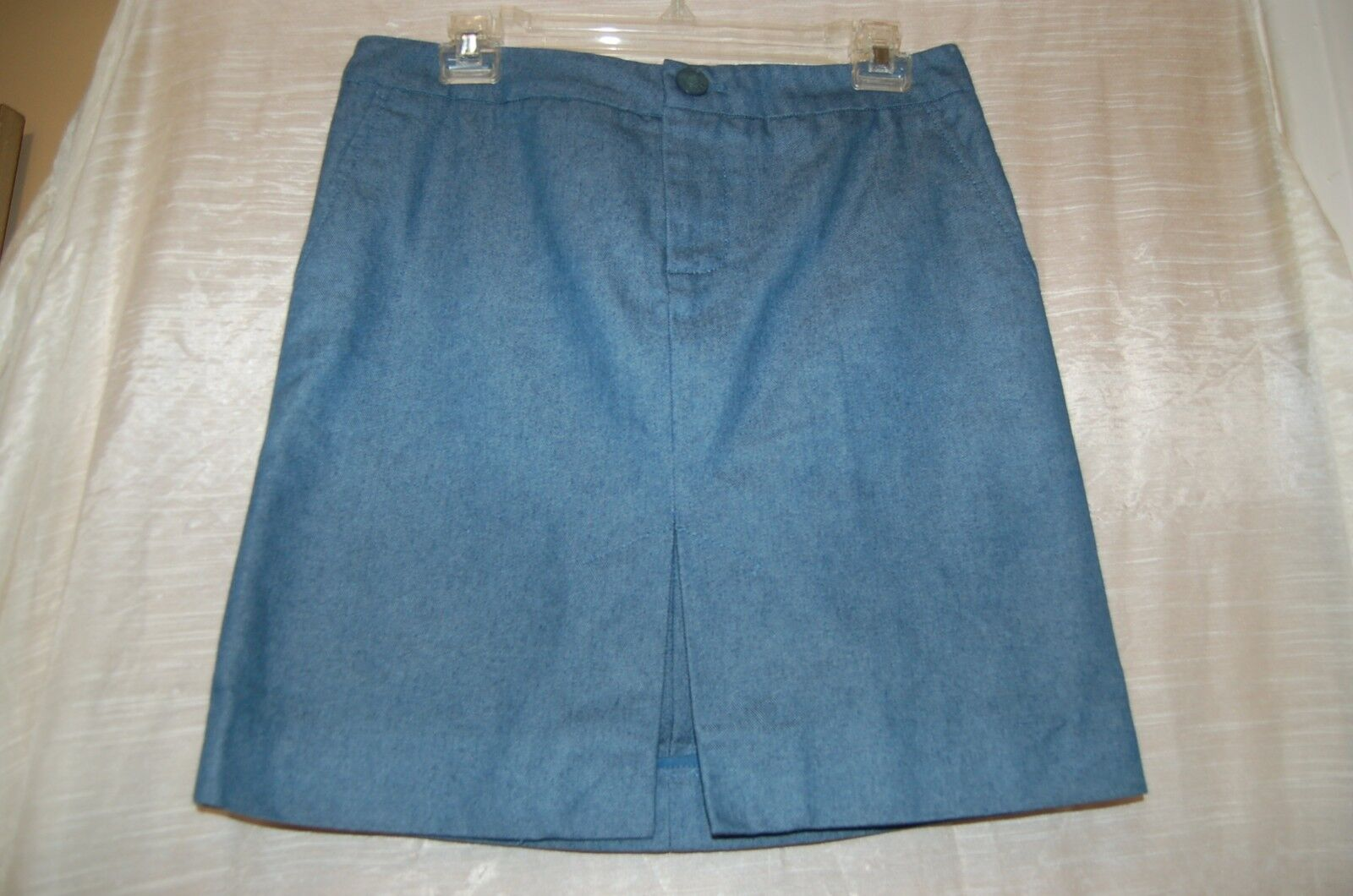 Marc Jacobs bluee Cotton Polyester Mini Jean Skirt Size 8 Made in Poland