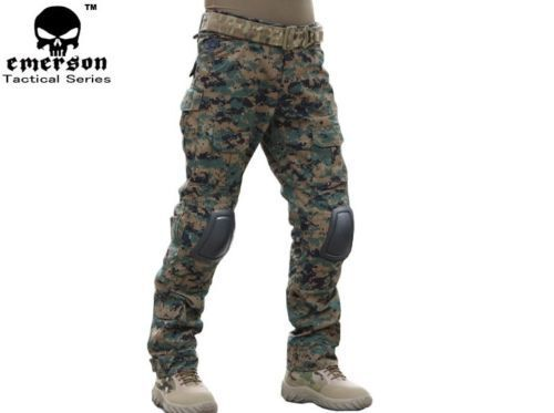 Tactical Pants with Knee Pads Gen2 Camping Hiking Hunting Trousers G5UK