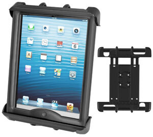 "Mount Aircraft Tab-Tite Universal Spring Loaded Cradle for 10"" Tablets"