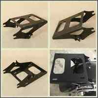 Detachable 2 Up Tour Pak Pack Mount Luggage Rack For Harley Touring Fl 14-up