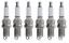 thumbnail 2 - 6 X DOUBLE PLATINUM SPARK PLUG FOR HOLDEN COMMODORE VZ ALLOYTEC LY7 LE0 3.6L V6