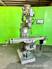 2hp Bridgeport Milling Machine 9 X 48 Table With Dro Pros And Power Feed