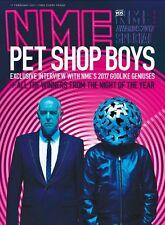 NME Magazine  Pet Shop Boys Christine & The Queens Dua Lipa Skepta Frank Ocean