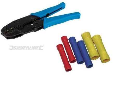 Splices Crimp Ratchet Crimping Pliers 215mm Crimper Coaxial BNC CCTV RG59 Cable