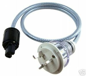 POLISHED-Audiophile-Mains-Power-cable-0-5-metre