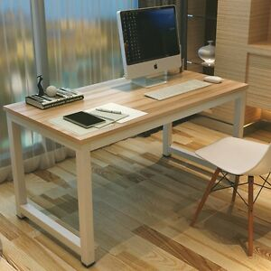 huge discount f5cac b9840 Details about Simple Computer Desk PC Laptop Study Table Office Desk  Workstation J-OD002