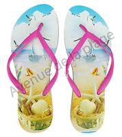 Tongs Pour Femme Paysage Marin 36 Au 41 Chaussures Plage Pas Cher Neuf