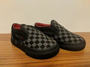 a712df38222b2a Image is loading VANS-New-Classic-Slip-On-Checkerboard-Vault-Toddler-