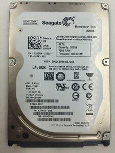 Seagate-Momentus-Thin-320GB-2-5-034-Internal-Hard-Drive-HDD-ST320LT007-7200rpm-16MB
