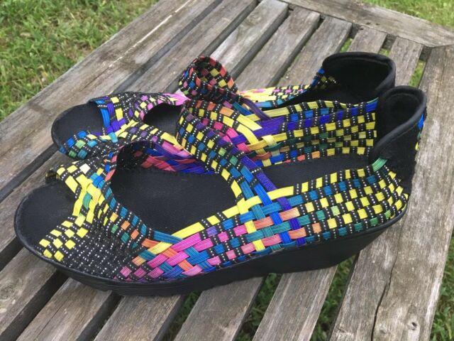 bernie mev. Shoes | Bm Bernie Mev Wedge Clog Navy 4 | Poshmark