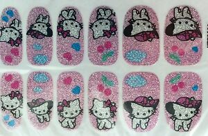 glitter kitty art