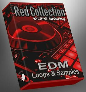 EDM Red Collection Part 1 WAV Loops Cubase Reason Ableton