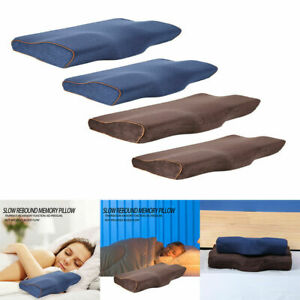 Memory-Foam-Orthopedic-Sleep-Pillow-Slow-Rebound-Neck-Soft-Cervical-Health-Care