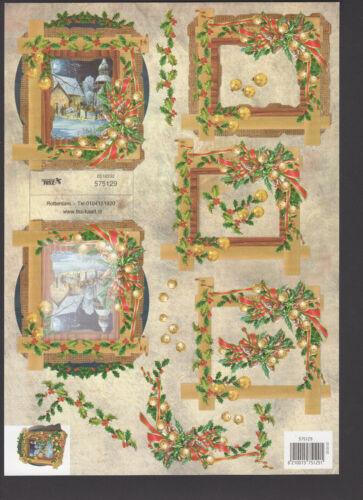 Motive zur Auswahl POP UP Karte Aufsteller 3D Etappen Weihnachten