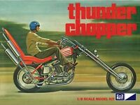 Mpc Mpc835/12 1/8 Scale Thunder Chopper Custom Motorcycle Plastic Model Kit