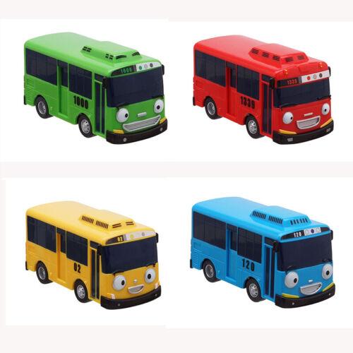 4 pcs Cars Toy The Little Bus TAYO Friends Mini Special Set Tayo Rogi Gani Rani