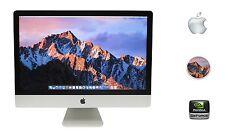 """Apple iMac 27"""" Intel Core i7 3.4GHz 24GB RAM 1TB Fusion GeForce GTX OS X Sierra"""