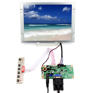 """8.4/"""" AA084SC01 800x600 LCD Screen DVI VGA Audio HDMI LCD Controller Board"""