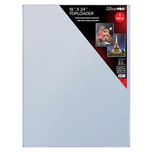 "NEW UltraPRO Ultra Pro 18"" X 24"" Rigid PVC Toploader 81188 magazines photos"
