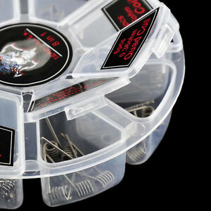Staple-Staggered-RDA-RTA-Premium-Built-Ready-Made-Clapton-Coils-Alien-X48Pcs