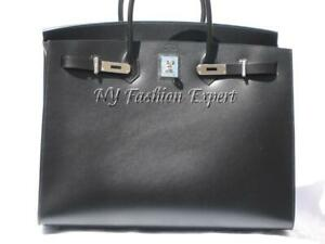 2f24a175e703 Image is loading Collector-039-s-Dream-BLACK-SELLIER-40cm-Hermes-