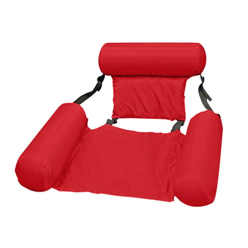Inflatable Swimming Floating Chair Foldable Pool Water Hammock Bed Lounge Seats