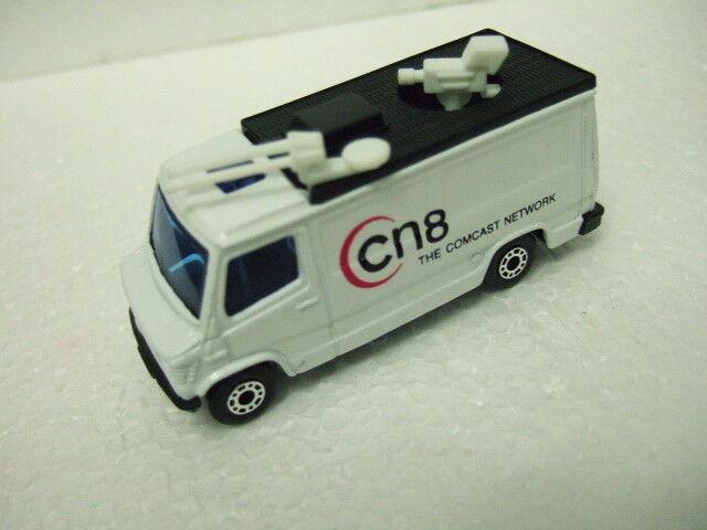 ++  Matchbox RARE promo MB68 TV News Truck   Cn8  - The Comcast Network<<