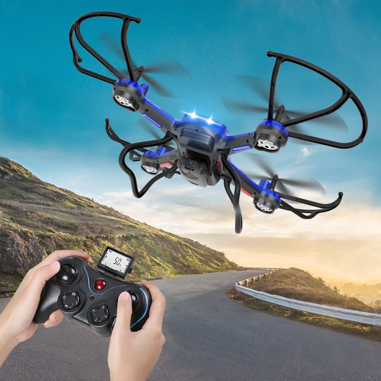 Drone Quadricottero con HD Camera F181H 2.4G 4CH 6Axis RC Drone RTF  I5B