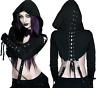 Bolero Verity Cropped Hood Killstar Laced-up Vest Veste Gothic Gothique Dark