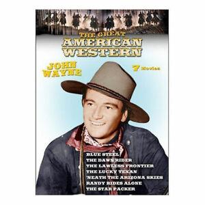 The-Great-American-Western-DVD-7-Films-John-Wayne-NEW