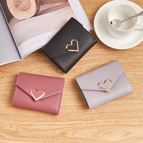 Fashion Women Wallet Coin Purse Female Short Wallet Card Holder Checkbook Bags