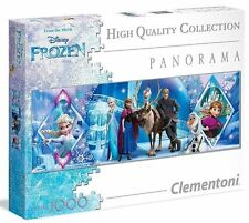 "CLEMENTONI Panorama Disney ""FROZEN"" 1000pc Jigsaw Puzzle - New and Sealed"