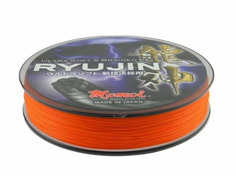 Momoi Ryujin orange 300m 0,10mm - 0,23mm Trenzado Made in Japan