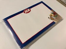 Iga Display Sale Price Signs 11 X 7 50 Pc Buy One Pack Get One Free